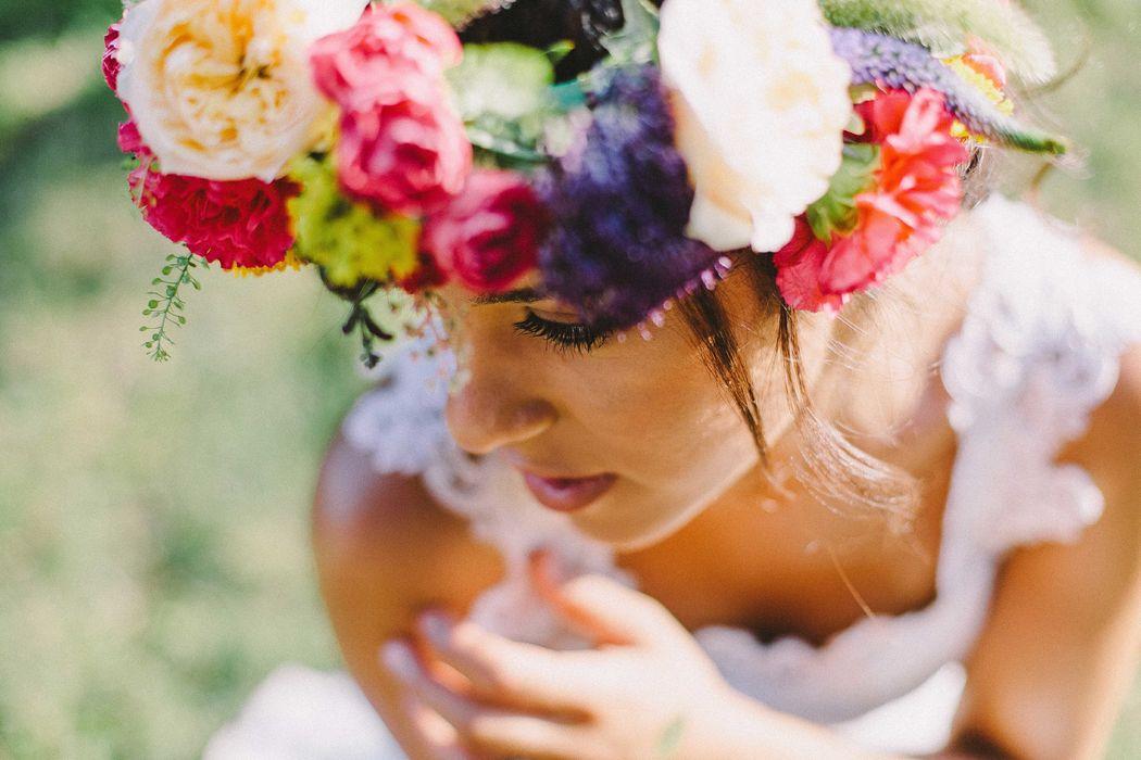 Mariée au sein de l'hôtel du Quai des Pontis