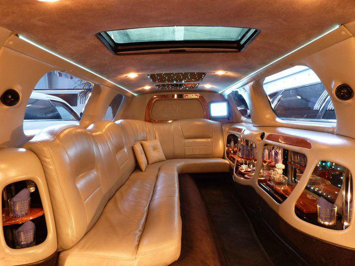 Beispiel: Limousine Innenansicht, Foto: Funcars Süd.