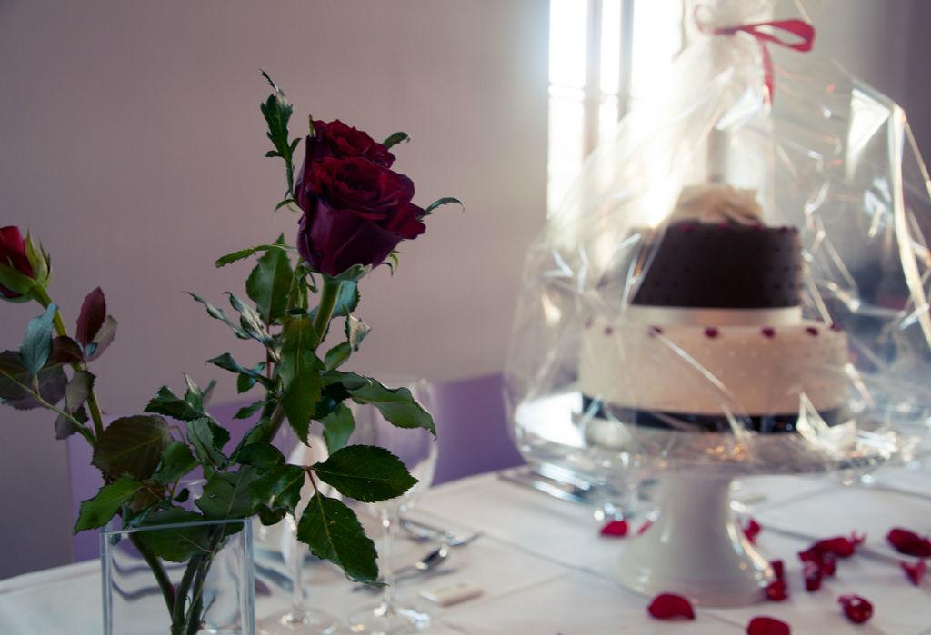 Beispiel: Hochzeitstorte, Foto: Marx Restauration.