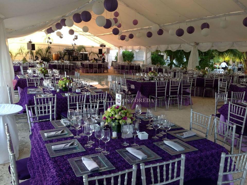 Banquetes Castellanos Zoreda, agencia de planeación de bodas en Cancún