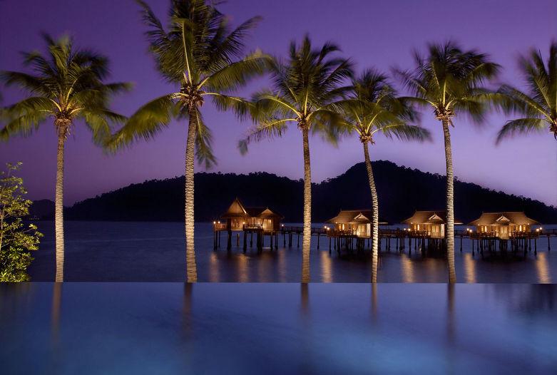 Infinity Pool de Pangkor Laut, Malasia
