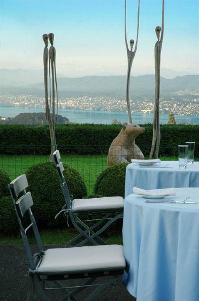Beispiel: Panoramablick, Foto: Sorell Hotel Zürichberg.
