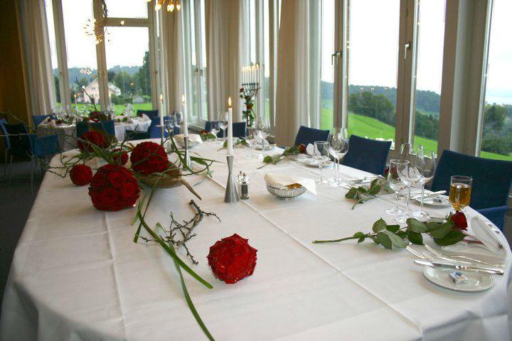 Beispiel: Hochzeitsdekoration, Foto: Hotel Heiden.