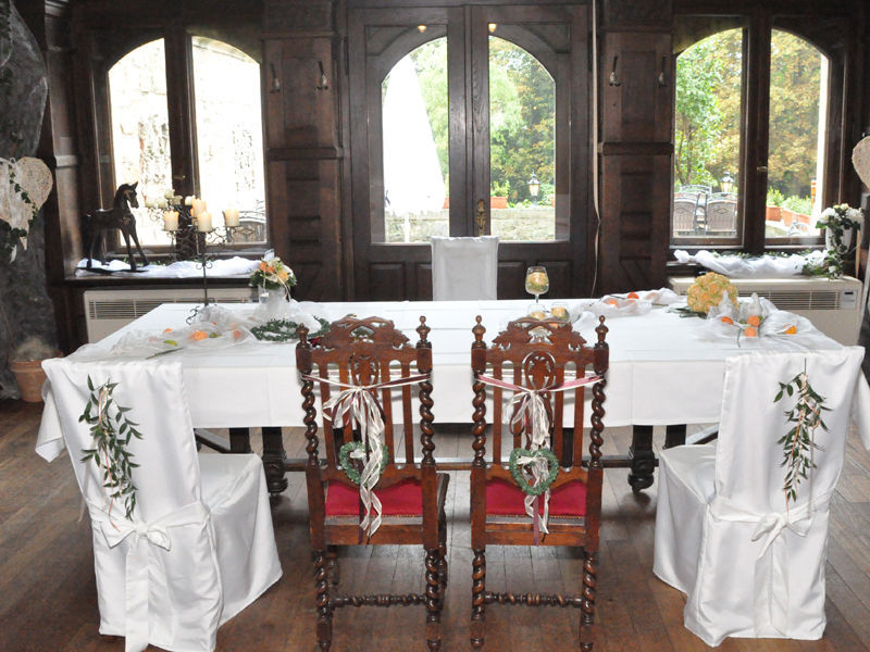 Beispiel: Standesamt, Foto: Schloss Garvensburg