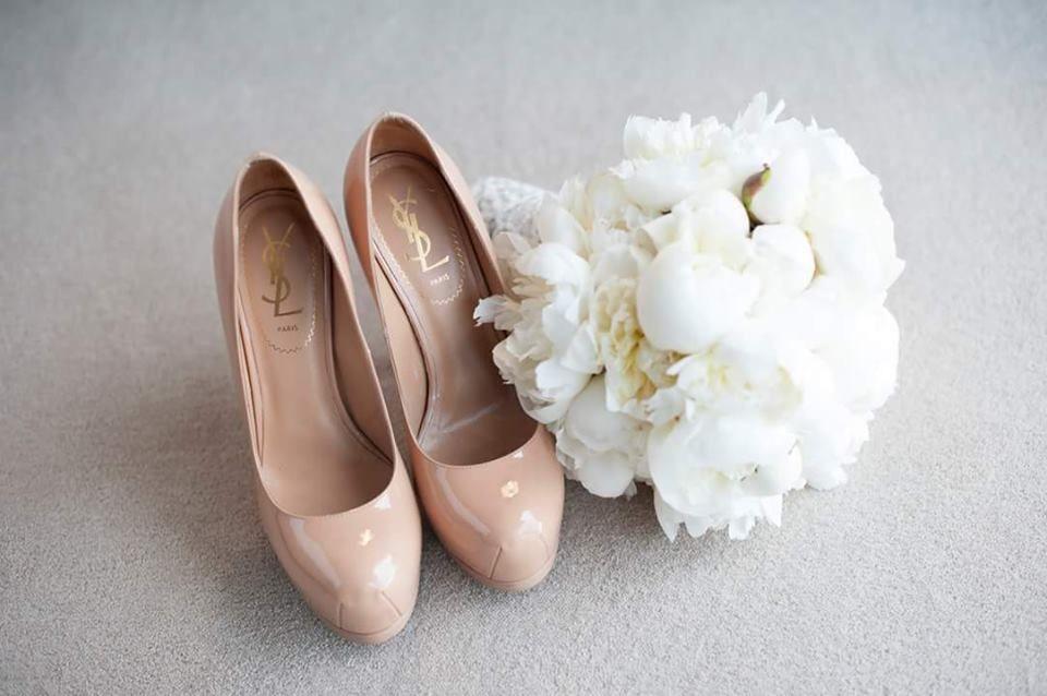 Casamento *M+R*  Pormenores com muito glamour