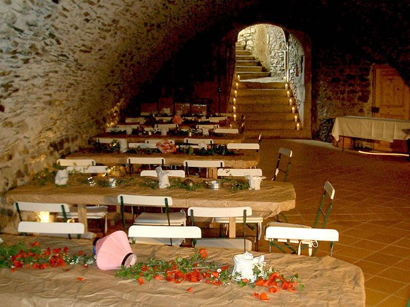 Beispiel: Gewölbekeller, Foto: Schloss Gemünden.