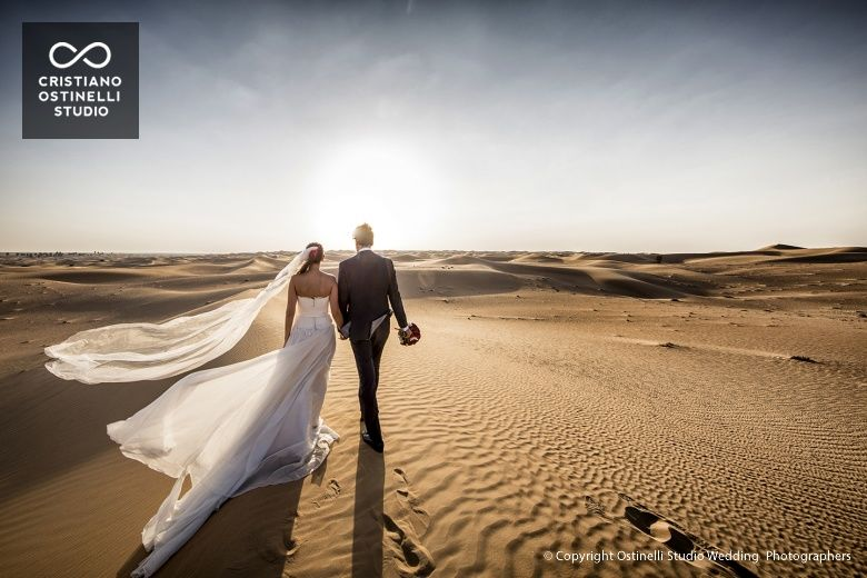 Wedding in Dubai desert