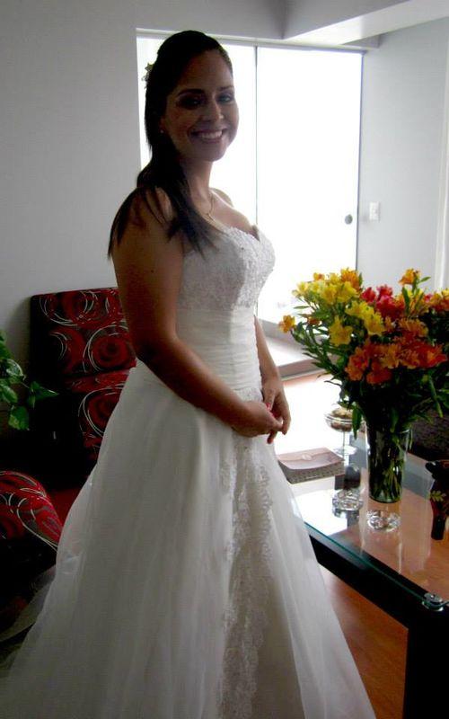 Novia Carmen Ortega.