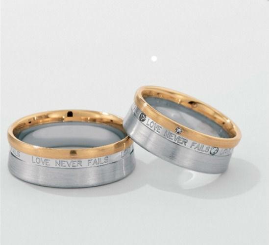 Beispiel: Silberring mit Goldrand, Foto: Seilnacht.