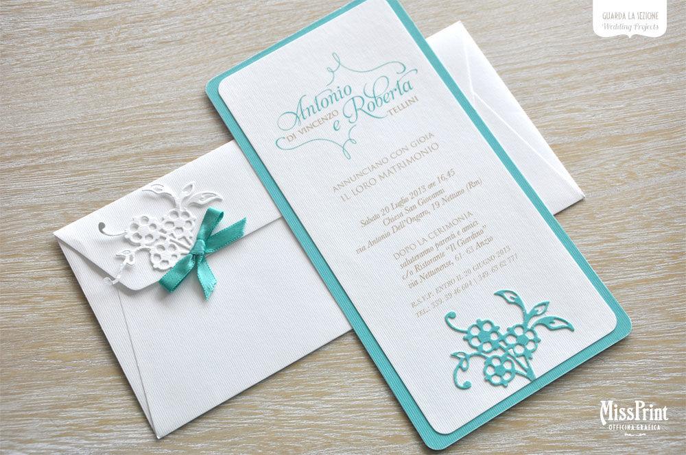 Partecipazione Elegance Tiffany