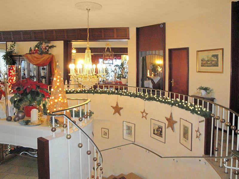 Beispiel: Treppenaufgang, Foto: Hotel Restaurant Diegner.