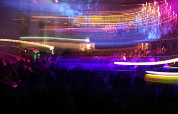 Beispiel: Lichtshow, Foto: DJ T.o.m T.o.m.