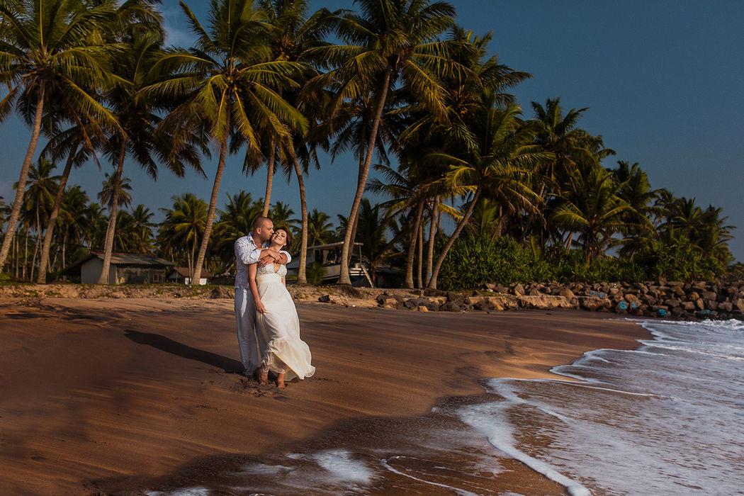 Свадебная фотосессия на Шри-Ланке