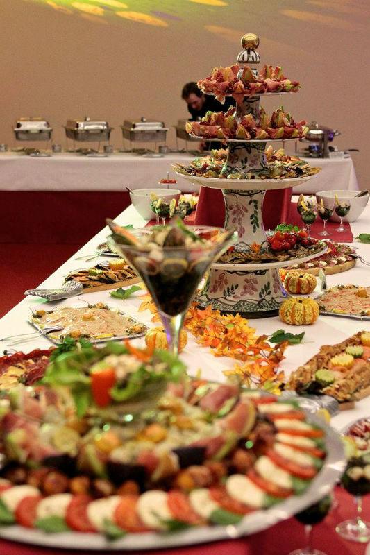 Beispiel: Buffet, Foto: Palais´S Gastro.