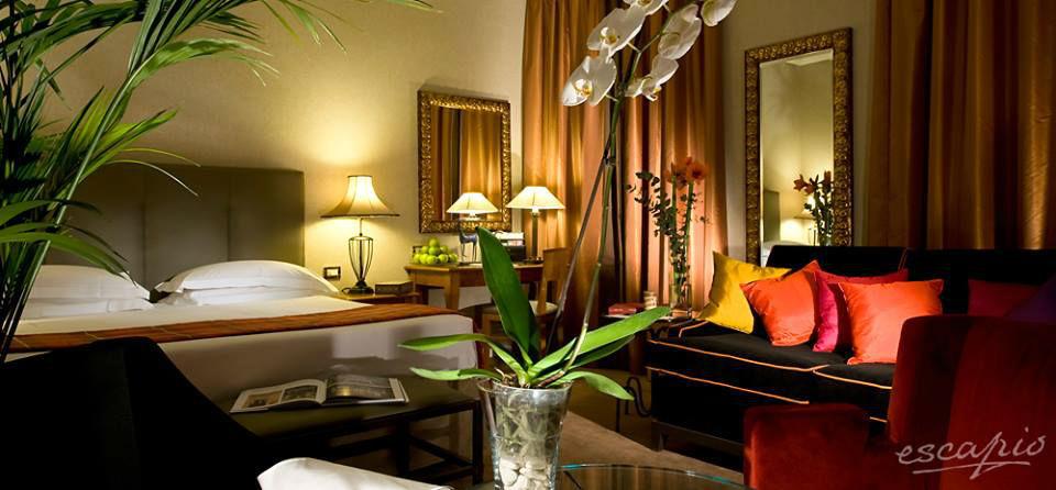Beispiel: Hotelzimmer mit einzigartigem Flair, Foto: Escapio.