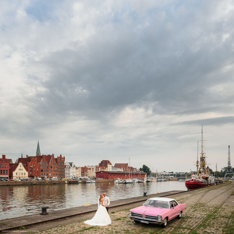 Hochzeit in Lübeck - Braupaarportraits