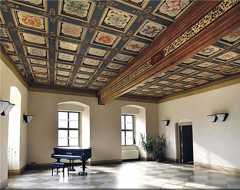 Beispiel: Festsaal, Foto: Renaissanceschloss Ponitz.