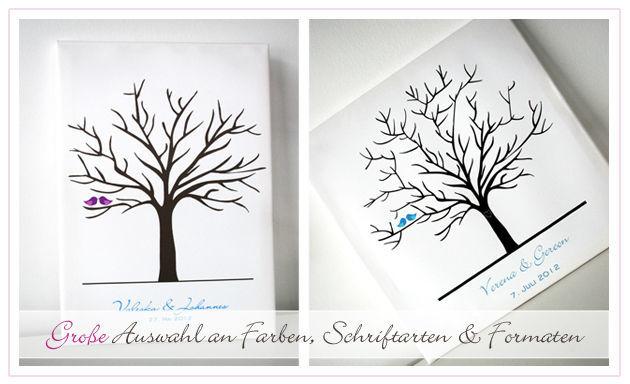 Beispiel: Viele Farben und Schriftarten zur Auswahl, Foto: Printsonalities.