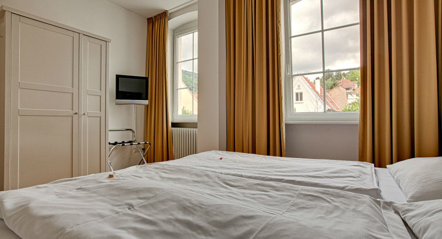 Beispiel: Hotelzimmer, Foto: Deutscher Kaiser.