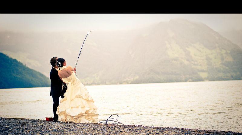 Beispiel: Kreative Ideen für Ihre Hochzeitsfotos, Foto: Fotomanufaktur Wessel.