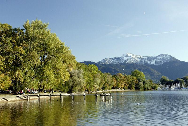 Beispiel: Ausblick auf Berge, Foto: Chiemgauhof.
