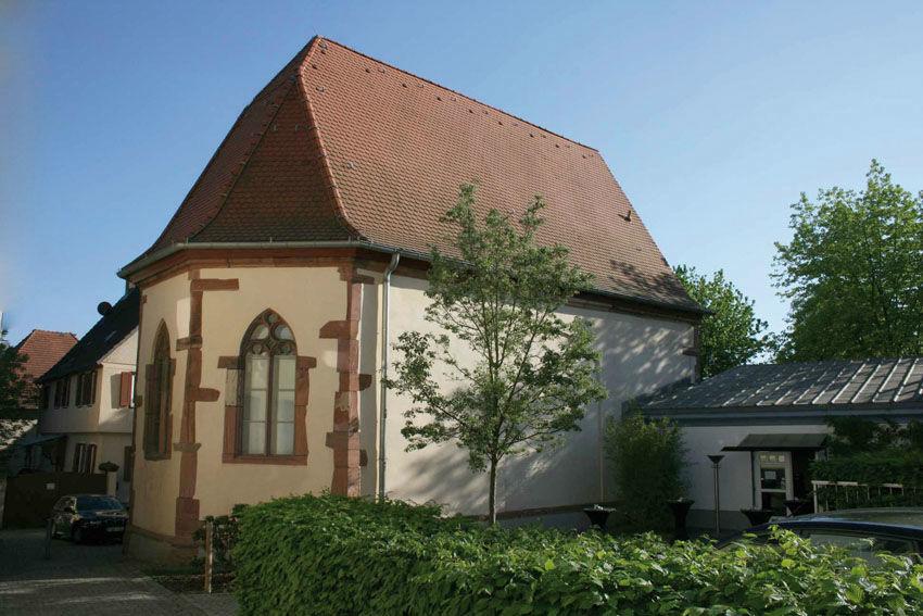 Beispiel: Außenansicht, Foto: Die Nikolauskapelle.