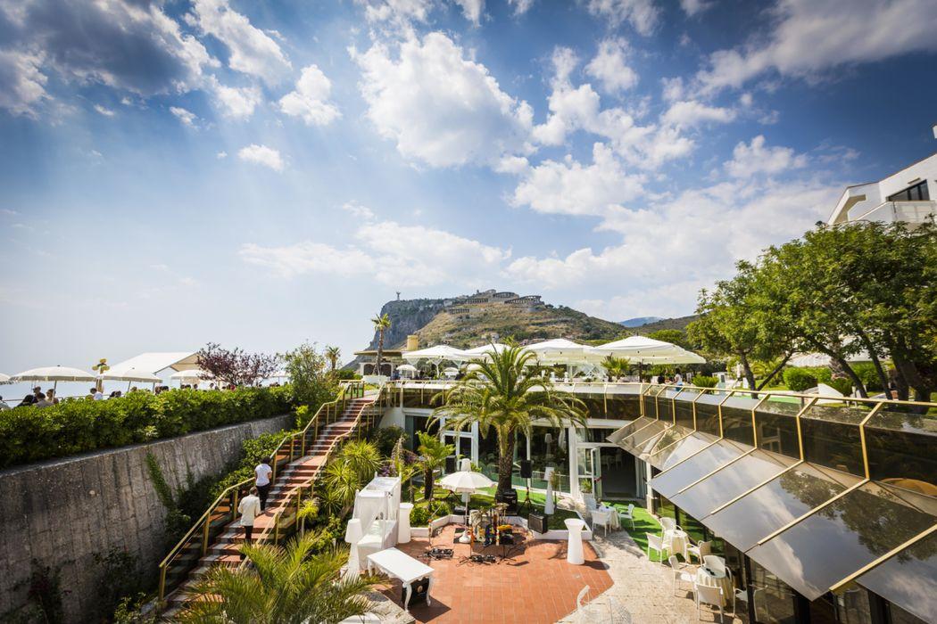 Grand Hotel Pianeta Maratea - il giardino interno    - photo: http://www.ndphoto.it/