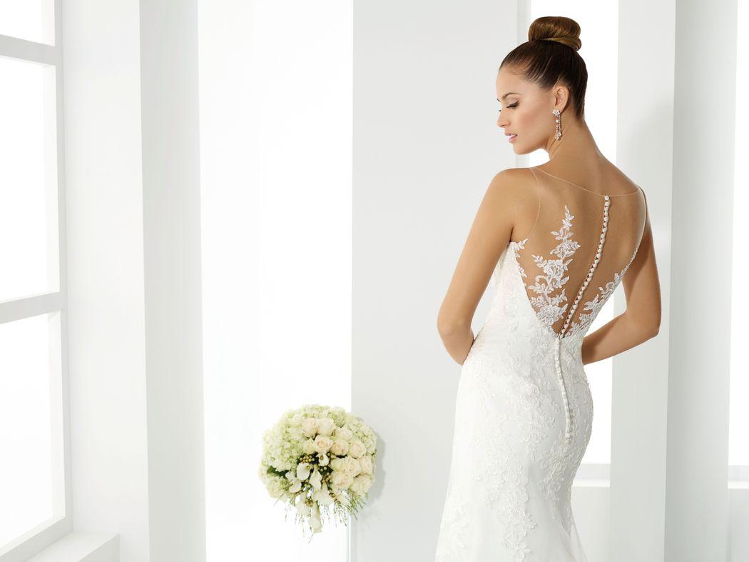 SAXO ivoire ou blanc - collection Un jour, une mariée
