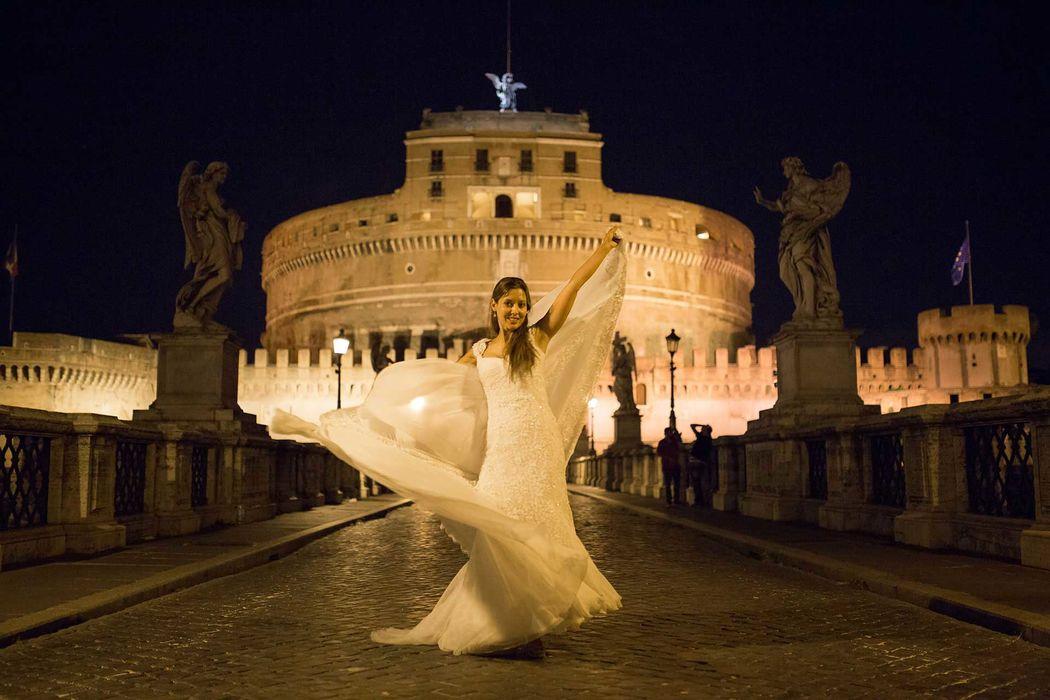 Boda Roma, Italia.
