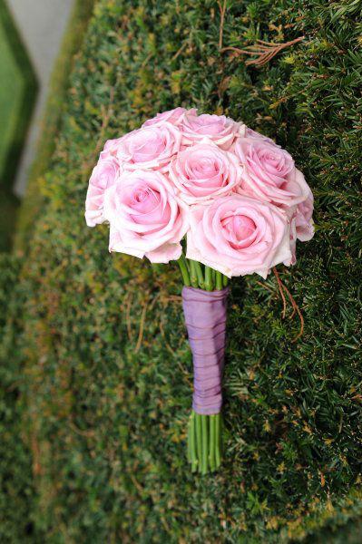 Beispiel: Wunderschöne Brautsträuße, Foto: Blumenhus Spaltenstein.