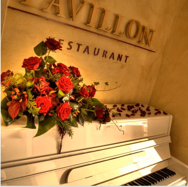 Beispiel: Pavillon Restaurant, Foto: Atlanta Hotel International Leipzig.