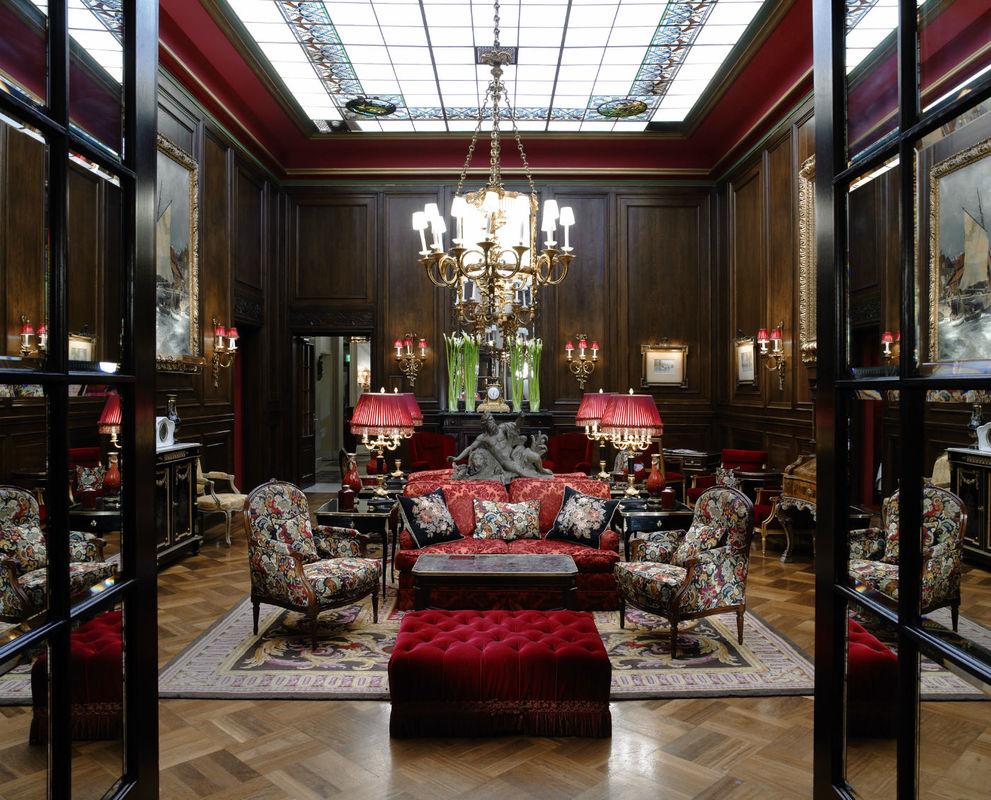 Beispiel: Lobby, Foto: Hotel Sacher.