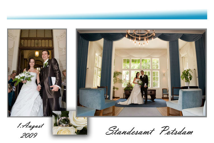 Beispiel: Traumhafte Hochzeitsbilder, Foto: Hochzeitsfotografie Berlin.