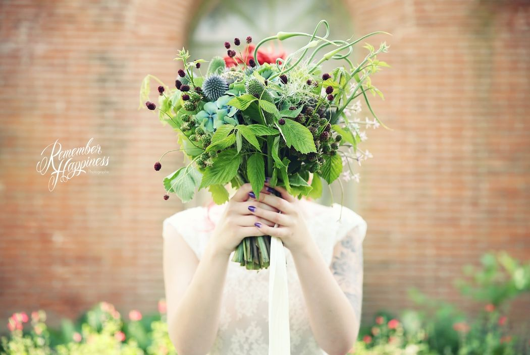 Shooting inspiration botanique - Photo : Remember Happiness