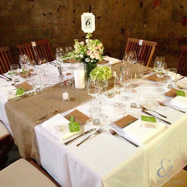 Beispiel: Hochzeitsdekoration, Foto: Mr. & Mrs. Hochzeitsplaner.