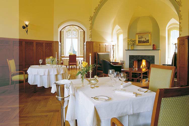 Beispiel: Restaurant, Foto: Schloss Hubertushöhe.