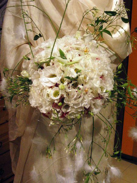 Beispiel: Brautstrauß, Foto: Blumen Au Bouquet.
