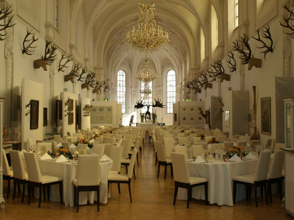 Beispiel: Dekoration Ihrer Hochzeitslocation, Foto: Die Hochzeitsgestalter.