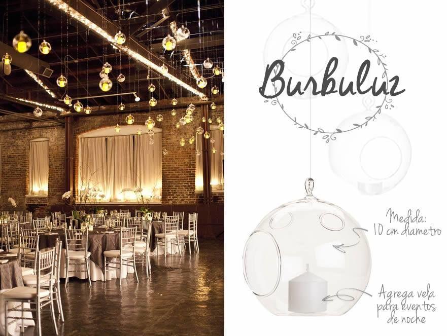 Burbuluz/ Burbujas de cristal