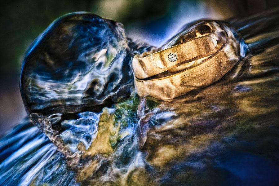 Beispiel: Makroaufnahmen der Ringe, Foto: Ingo Cordes.
