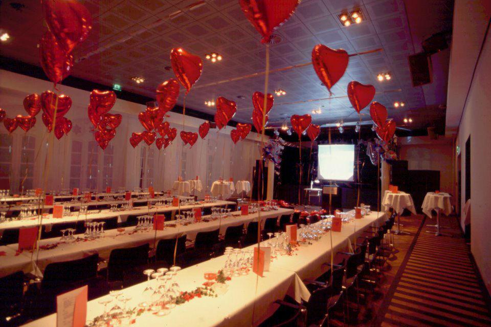 Beispiel: Festsaal - Bankett, Foto: Altes Rathaus Hannover.