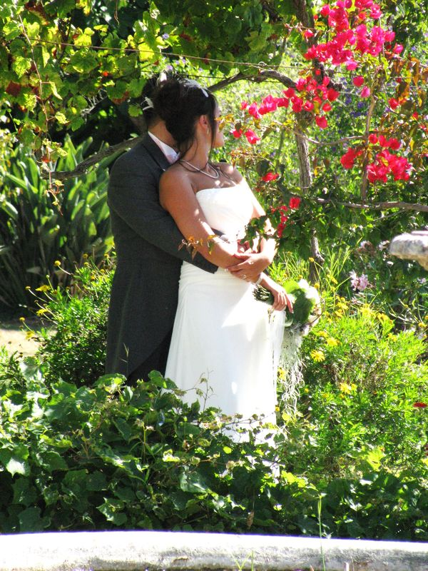 Noivos no Jardim