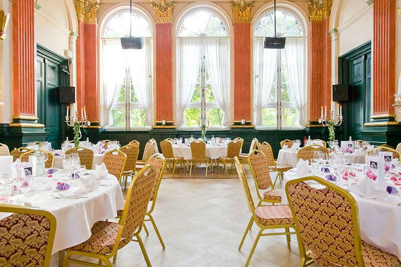 Beispiel: Großer Saal, Foto: Stadtpalais Celle.