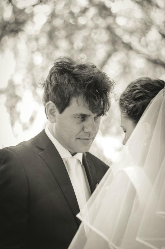 Beispiel: Romantische Hochzeitsfotos, Foto: Hochzeitsfotograf Dieter Hawlan.