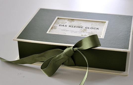 Beispiel: Feine Drucksachen, Foto: Ephemeres FEINE DRUCKSACHEN.