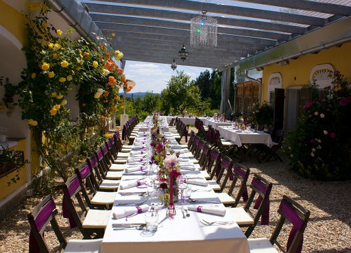 Beispiel: Hochzeitstafel, Foto: Die Träumerei.