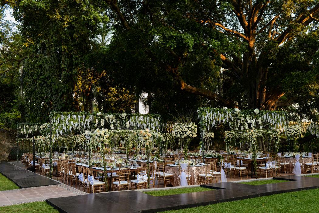 Wedding Planner y coordinación en Hacienda Chiconcuac, Cuernavaca