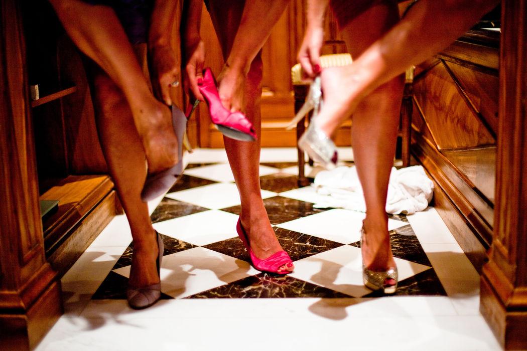 Escarpins de demoiselles d'honneur, Deauville, crédit Fanny Dion