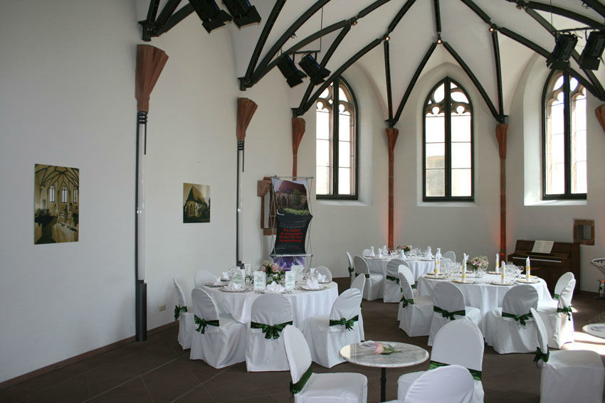 Beispiel: Bankett in der Nikolauskapelle, Foto: Die Nikolauskapelle.