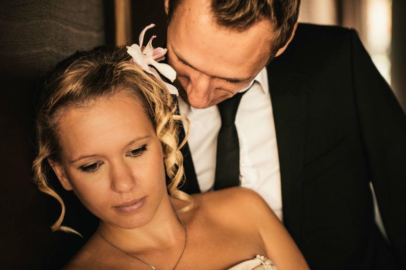 Beispiel: Romantische Hochzeitsfotos, Foto: Patrick Ludolph.